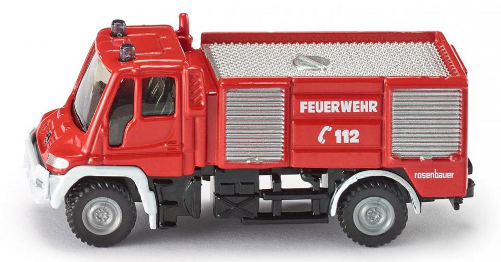 Siku Пожарная машина 1068 siku пожарная машина unimog с катером