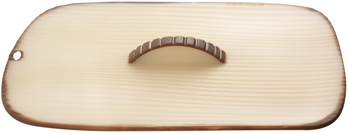 Крышка прямоугольная Charles Viancin Timber, цвет: светло-коричневый, 35 х 25 см10001Крышка герметична, привлекательна по дизайну и функциональна. Ее можно использовать в процессе приготовления пищи на плите, в микроволновой печи и в духовом шкафу. Подходит для посудомоечной машины. Можно использовать в холодильнике. Закроет любую емкость с гладким ободом.