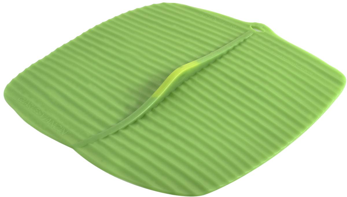 Крышка квадратная Charles Viancin Banana Leaf, цвет: зеленый, 25 х 25 см1402Крышка герметична, привлекательна по дизайну и функциональна. Ее можно использовать в процессе приготовления пищи на плите, в микроволновой печи и в духовом шкафу. Подходит для посудомоечной машины. Можно использовать в холодильнике. Закроет любую емкость с гладким ободом.