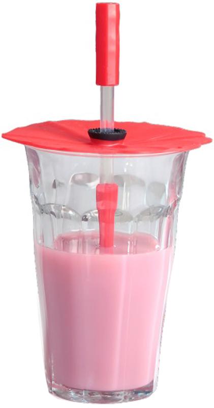 Набор крышек для напитков Charles Viancin Poppy, с трубочками, 2 шт2919Набор крышек и трубочек для напитков Charles Viancin выполнен из силикона. Крышка герметична, привлекательна по дизайну и функциональна. Ее можно использовать в процессе приготовления пищи на плите, в микроволновой печи и в духовом шкафу, а также в холодильнике. Закроет любую емкость с гладким ободком диаметром до 10 см. В набор входит: 1. Крышки, диаметр 10 см, высота 3 см - 2 шт. 2. Трубочки для напитков - 2 шт.