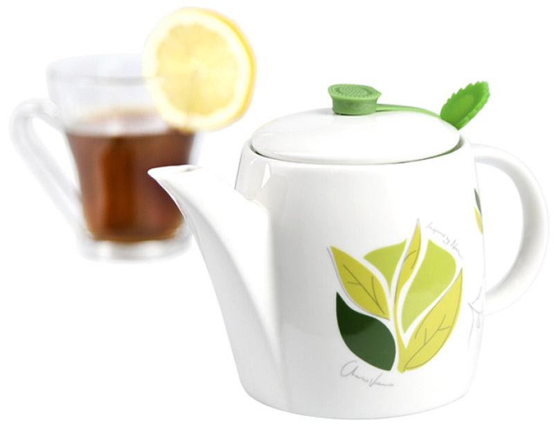Чайник заварочный Charles Viancin Camellia, с фильтром, 500 мл9811Многофункциональные чайники с фильтром, Charles Viancin - обязательный атрибут истинного любителя чая. Благодаря уникальному дизайну и герметичным накладкам, чай долго сохраняет тепло и аромат.