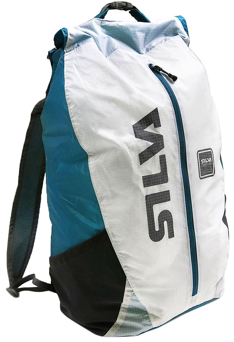 Чехол водонепроницаемый Silva Carry Dry Backpack, цвет: синий, 23 л39038-2Водонепроницаемый чехол для рюкзака.Особенности:- материал 30D Кордура, быстро сохнет, не пропускает воду внутрь;- компактно складывается в маленький мешочек;- карман для мелочей;- внешний карман на молнии;- два боковых кармана; - светоотражающие элементы.