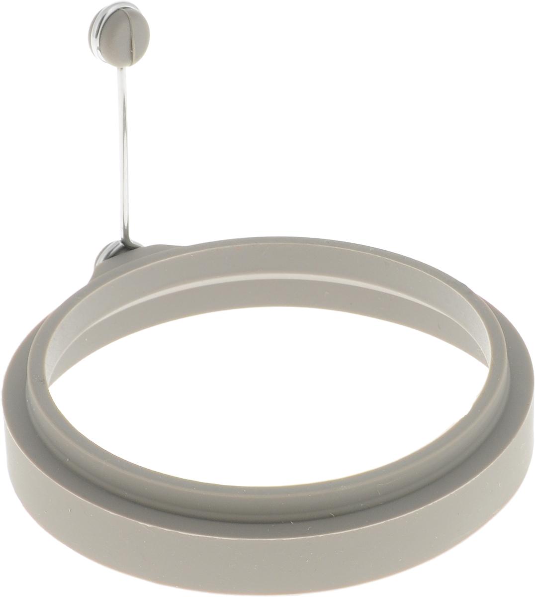 Форма для выпечки Dosh Home Gemini, 11 см. 300317300317Формочка отлично подходит для приготовления яичницы, омлета, блинов, картофельных оладьев на сковороде или в духовке, еще ее можно использовать для приготовления желе, пудинга и т.д. Для удобства имеется специальная ручка, за которую можно пододвинуть и поднять готовое изделие со сковородки. Формочка изготовлена из высококачественного термостойкого силикона, ручка из нержавеющей стали, можно мыть в посудомоечной машине.