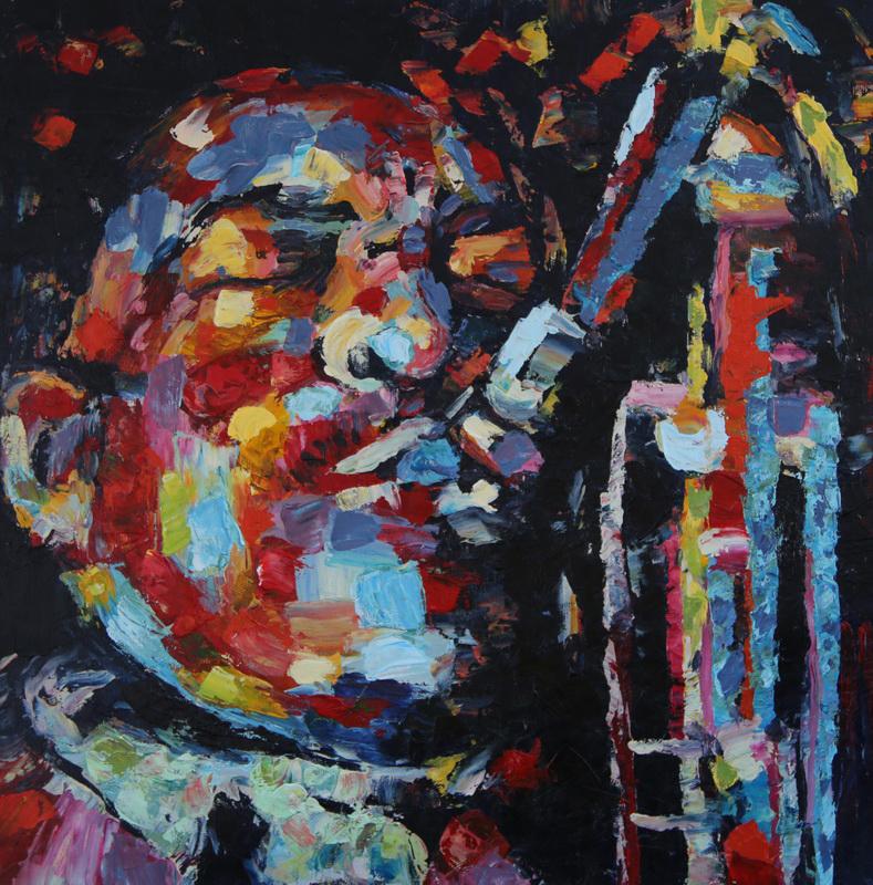 Картина Джаз. Саксофон, холст, масло, 50х50 смАРТ 17Н01Авторская живопись маслом на холсте. Размер 50 х 60 см. Картина продается без рамы, холст натянут на профессиональный (модульный) подрамник. Николаев Владимир - современный художник, автор декоративных картин.