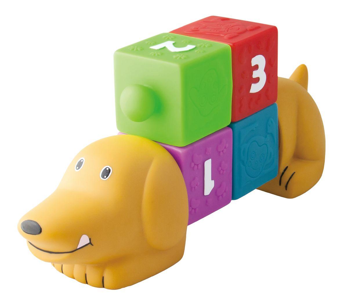 Little Hero Развивающая игрушка Собачка с кубиками сортеры пирамидки кубики конструкторы little hero