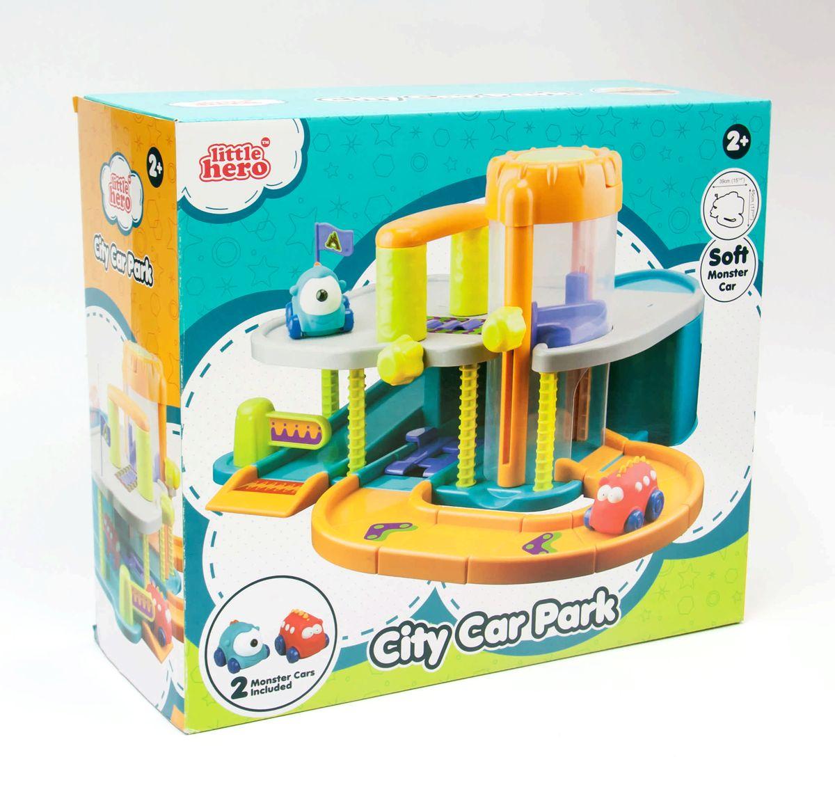 Little Hero Игровой набор Городская парковка - Транспорт, машинки