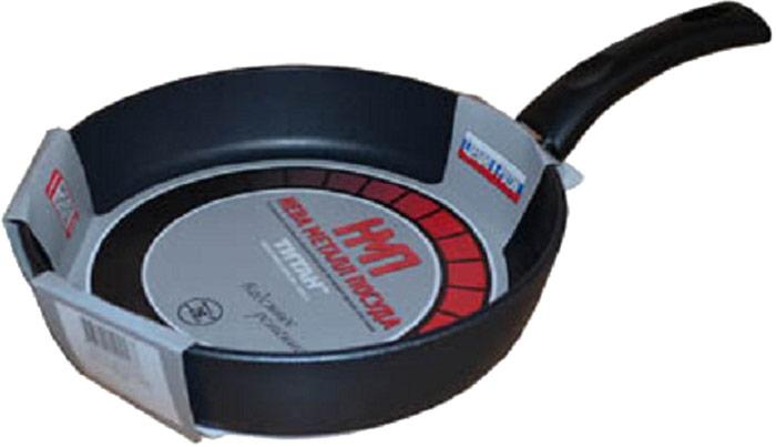 Сковорода Нева Эксперт, с ручкой. Диаметр 26 см96026Сковорода Нева Эксперт выполнена из алюминия. Толщина дна и высота бортов сковороды оптимальны для различных способов приготовления.