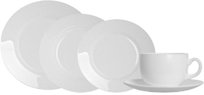 Сервиз обеденный Luminarc Every Day, цвет: белый, 30 предметовЖ3768В обеденный сервиз Luminarc Every Day включены следующие предметы: тарелка суповая, 22 см - 6 шт.; тарелка обеденная, 24 см - 6 шт.; тарелка десертная, 19 см - 6 шт; чашка, объем 220 мл - 6 шт; блюдце, 14 см - 6 шт. Набор изготовлен из высококачественного упрочненного стекла торговой марки Luminarc.Сервиз столовой посуды из белого стекла гладкой фактуры прекрасно подойдет для повседневной и праздничной сервировки.