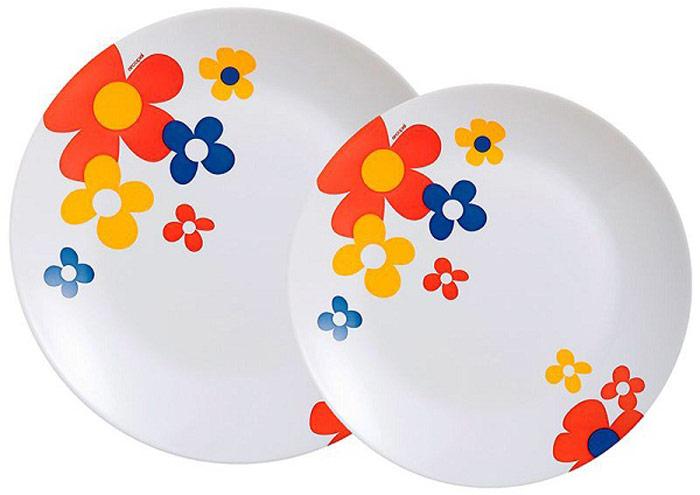 Сервиз обеденный Luminarc Celestine, 18 предметовOW-13L/160203Сервиз Luminarc прекрасно подойдет для вашей кухни и великолепно украсит праздничный стол. Изящный дизайн и красочность оформления изделий придутся по вкусу и ценителям классики, и тем, кто предпочитает утонченность и изысканность в дизайне. Все изделия изготавливаются на современном оборудовании по новейшим технологиям и проходят строгий контроль качества. Сервизсостоит из 18 предметов: — Тарелка десертная 6 шт. (18 см) — Тарелка обеденная 6 шт. (25 см) — Тарелка суповая 6 шт. (20 см) Материал: опаловое стекло.