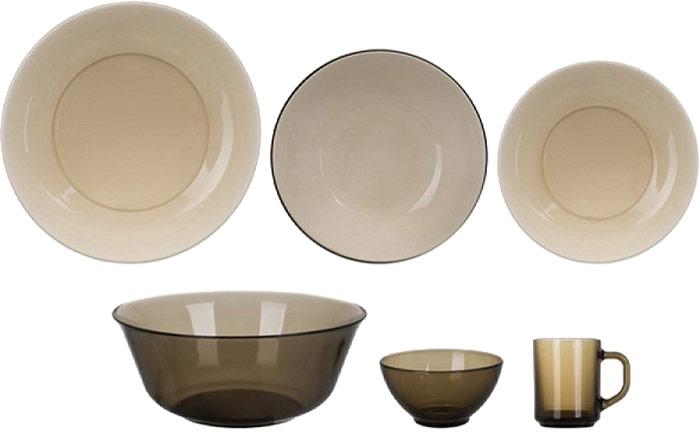 Сервиз обеденный Luminarc Амбьянте, 31 предметК9370Сервиз Luminarc прекрасно подойдет для вашей кухни и великолепно украсит праздничный стол. Изящный дизайн и красочность оформления изделий придутся по вкусу и ценителям классики, и тем, кто предпочитает утонченность и изысканность в дизайне. Все изделия изготавливаются на современном оборудовании по новейшим технологиям и проходят строгий контроль качества. Сервиз состоит из 31 предмета: Тарелка десертная 19,5 см - 6 шт Тарелка обеденная 24,5 см - 6 шт Тарелка глубокая 20,5 см - 6 шт Салатник маленький 12 см - 6 шт Кружка 250 мл - 6 шт Салатник большой 24 см - 1 шт.
