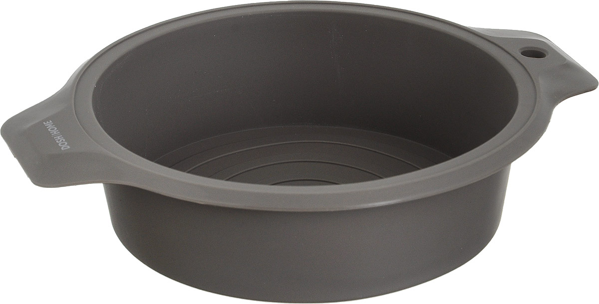 Форма для торта Dosh Home Gemini, диаметр 22 см300301Форма для торта Dosh Home Gemini отлично подходит для приготовлениясладких и соленых блюд. Форма предотвращает пригорание, поэтому поокончании выпекания продукт легко вынимается из формы. Изготовлено изтермостойкого силикона высокого качества, устойчивого до 180 °С. Форму легкочистить, она не занимает много места. Форма подходит для приготовленияпищив газовых, электрических, конвекционных и микроволновых печах, но нельзяставить форму на открытый огонь или раскаленную конфорку. Подходит длямытья в посудомоечной машине.