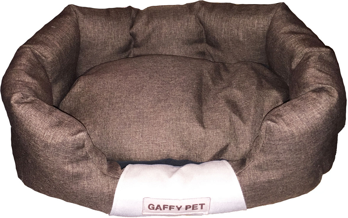 Лежак для животных Gaffy Pet One, цвет: шоколадный, 55 х 35 х 23 см10011240Лежак для животных Gaffy Pet One обязательно понравится вашему питомцу.Верх лежака выполнен из плотного текстиля. В качестве наполнителяиспользуется мягкий холлофайбер. Изделие имеет высокие бортики, которыеотлично держат форму, и съемную подушку. Использование профессиональныхтканей дает владельцам питомцев большое преимущество в чистке и уходе безущерба внешнему виду. Такой лежак прекрасно впишется в любой современныйинтерьер.