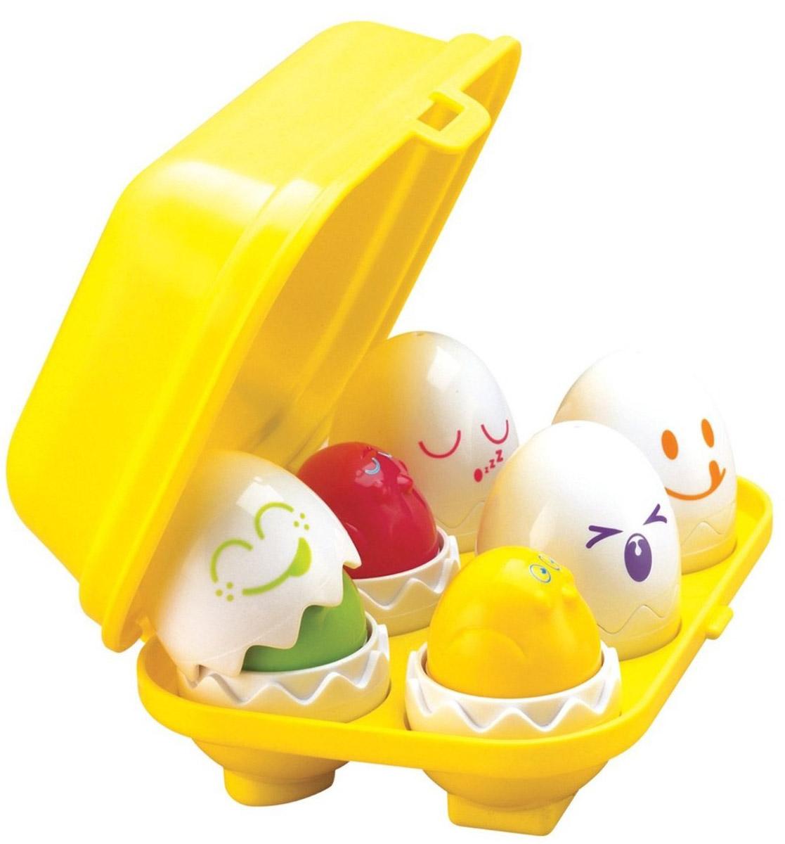 Tomy Развивающая игрушка-сортер Веселые яйца игровые наборы tomy моя первая ферма набор с погрузчиком