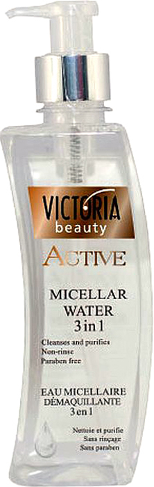 VictoriaBeauty Мицеллярная вода 3 в 1 (очищение, увлажнение, тонизирование), 400мл770114Продукт содержит 97% натуральных ингредиентов. Он тщательно и эффективно удаляет макияж и загрязнения с лица вашего лица, глаз и губ, не нарушая естественный рН кожи. Он глубоко увлажняет и тонизирует кожу. Делает кожу мягкой, гладкой и свежей.