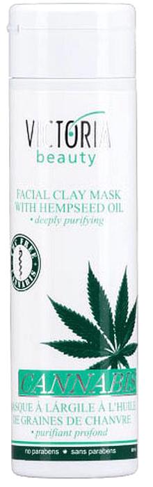 VictoriaBeauty Минеральная маска с маслом семен конопли, 230 мл770253Маска для лица очищает в глубину, удаляет мертвые клетки кожи и стимулирует рост новых. Абсорбирует и регулирует излишки кожного сала. Имеет небольшой отшелушивающий эффект. Благодаря конопляного масла, содержащегося в маске, ваша кожа увлажнена и защищена от высыхания. Подходит для всех типов кожи