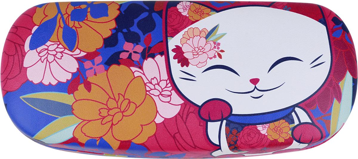Футляр для очков женский Mani The Lucky Cat, цвет: розовый. MF063 цепочки для очков germes цепочка металлическая для очков g 8