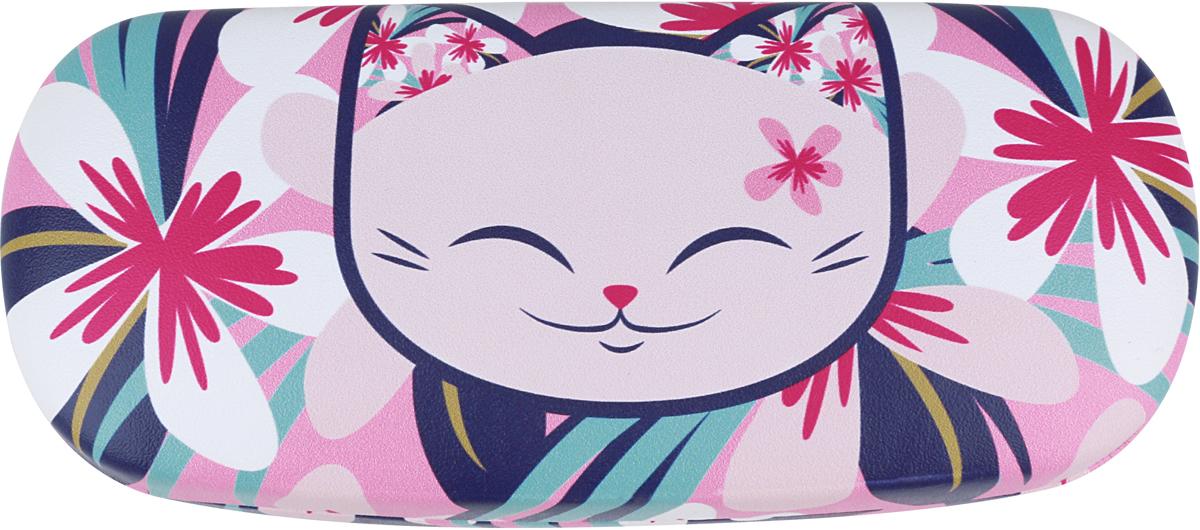 Футляр для очков женский Mani The Lucky Cat, цвет: розовый. MF064 цепочки для очков germes цепочка металлическая для очков g 8