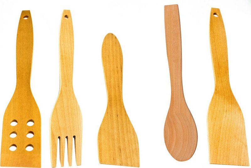 Набор кухонный Тимбэ Продакшен, 5 предметовНК5Лопатки для помешивания