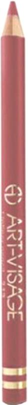 Art-Visage Карандаш контурный для губ / Lipliner pencil, т. 220, 1,3 г646357Создает идеальный контур губ. Бережно ухаживает за нежной кожей весь день. В состав карандаша входят натуральные компоненты, которые способствуют сохранению красоты и молодости ваших губ: • Экстракт алоэ оказывает тонизирующее и бактерицидное действие; • масло жожоба смягчает и питает кожу; • витамин Е помогает сохранить молодость кожи; • натуральные тугоплавкие воски обеспечивают повышенную стойкость карандаша в течение дня.