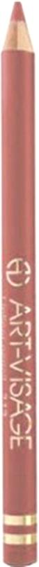 Art-Visage Карандаш контурный для губ / Lipliner pencil, т. 221, 1,3 г646364Создает идеальный контур губ. Бережно ухаживает за нежной кожей весь день. В состав карандаша входят натуральные компоненты, которые способствуют сохранению красоты и молодости ваших губ: • Экстракт алоэ оказывает тонизирующее и бактерицидное действие; • масло жожоба смягчает и питает кожу; • витамин Е помогает сохранить молодость кожи; • натуральные тугоплавкие воски обеспечивают повышенную стойкость карандаша в течение дня.