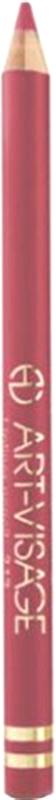 Art-Visage Карандаш контурный для губ / Lipliner pencil, т. 226, 1,3 г646500Создает идеальный контур губ. Бережно ухаживает за нежной кожей весь день. В состав карандаша входят натуральные компоненты, которые способствуют сохранению красоты и молодости ваших губ: • Экстракт алоэ оказывает тонизирующее и бактерицидное действие; • масло жожоба смягчает и питает кожу; • витамин Е помогает сохранить молодость кожи; • натуральные тугоплавкие воски обеспечивают повышенную стойкость карандаша в течение дня.