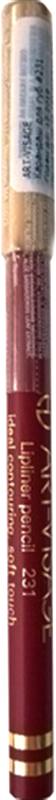 Art-Visage Карандаш контурный для губ / Lipliner pencil, т. 231, 1,3 г646555Создает идеальный контур губ. Бережно ухаживает за нежной кожей весь день. В состав карандаша входят натуральные компоненты, которые способствуют сохранению красоты и молодости ваших губ: • Экстракт алоэ оказывает тонизирующее и бактерицидное действие; • масло жожоба смягчает и питает кожу; • витамин Е помогает сохранить молодость кожи; • натуральные тугоплавкие воски обеспечивают повышенную стойкость карандаша в течение дня.