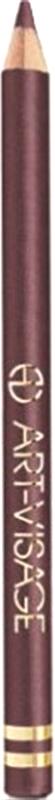 Art-Visage Карандаш контурный для глаз / Eyeliner pencil, т. 141, 1,3 г689277КОМФОРТНАЯ текстура УСТОЙЧИВОСТЬ и ЗАБОТА до 12 часов Натуральные и тугоплавкие воски делают цвет более устойчивым, масло жожоба смягчает и питает нежную кожу век, экстракт алоэ оказывает тонизирующее и бактерицидное действие, витамин Е помогает сохранить молодость. Совет визажиста: Обманные маневры. Ресницы будут выглядеть более густыми и пушистыми, если провести карандашом линию у корней и слегка растушевать ее с помощью аппликатора. Визуально это имитирует тень от роскошных ресниц.