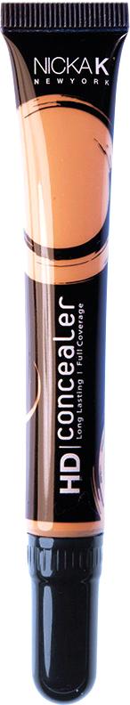 Nicka K NY HD Concealer тональный крем, 15 мл, оттенок FALLOW016989Nicka K Консилер HD идеально маскируют темные круги под глазами и другие несовершенства кожи, наполняя лицо сиянием. Легкая, увлажняющая формула со светоотражающей технологией гарантируют равномерное нанесение и отсутствие жирного блеска в течение всего дня.
