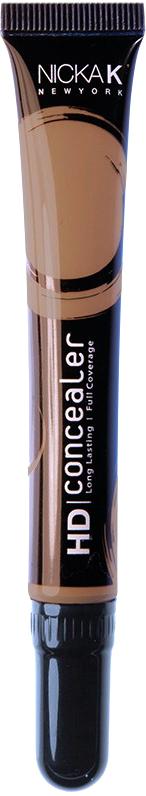 Nicka K NY HD Concealer тональный крем, 15 мл, оттенок SEPIA017431Nicka K Консилер HD идеально маскируют темные круги под глазами и другие несовершенства кожи, наполняя лицо сиянием. Легкая, увлажняющая формула со светоотражающей технологией гарантируют равномерное нанесение и отсутствие жирного блеска в течение всего дня.