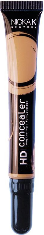 Nicka K NY HD Concealer тональный крем, 15 мл, оттенок COYOTE017431Nicka K Консилер HD идеально маскируют темные круги под глазами и другие несовершенства кожи, наполняя лицо сиянием. Легкая, увлажняющая формула со светоотражающей технологией гарантируют равномерное нанесение и отсутствие жирного блеска в течение всего дня.