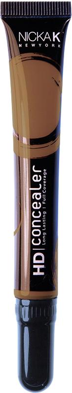 Nicka K NY HD Concealer тональный крем, 15 мл, оттенок CHOCOLATE016989Nicka K Консилер HD идеально маскируют темные круги под глазами и другие несовершенства кожи, наполняя лицо сиянием. Легкая, увлажняющая формула со светоотражающей технологией гарантируют равномерное нанесение и отсутствие жирного блеска в течение всего дня.