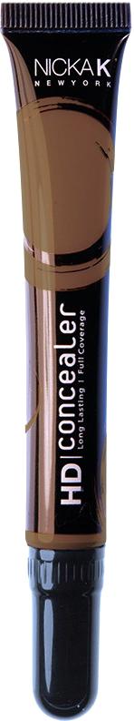 Nicka K NY HD Concealer тональный крем, 15 мл, оттенок DARK BROWN017431Nicka K Консилер HD идеально маскируют темные круги под глазами и другие несовершенства кожи, наполняя лицо сиянием. Легкая, увлажняющая формула со светоотражающей технологией гарантируют равномерное нанесение и отсутствие жирного блеска в течение всего дня.