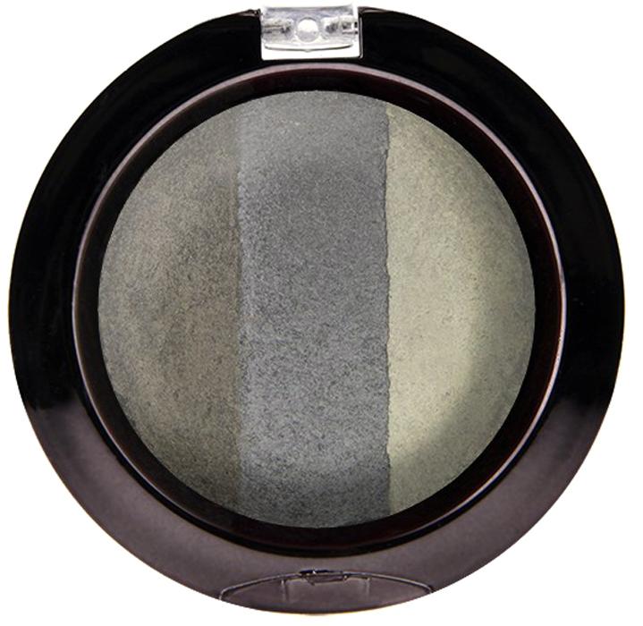 Nicka K NY Defining Eyeshadow тени для глаз, 7 г, оттенок SPARKLE SMOKYNBE02Миксовые цвета трёхцветных теней Nicka K New York Terracotta Baked Eyeshadows при нанесении раскрываются богатой палитрой, подчёркивая выразительность взгляда. При производстве теней используется новаторский метод запекания на терракоте, что приводит к шелковисто-плавному переходу при нанесении. Мягкая микро-пудра, входящая в состав теней, увеличивает стойкость, что позволяет макияжу сохраняться в течение всего дня, не осыпаясь и не размазываясь. Тени можно наносить как сухим аппликатором для создания нежного сияния, так и влажным методом для придания макияжу яркого металлического блеска.