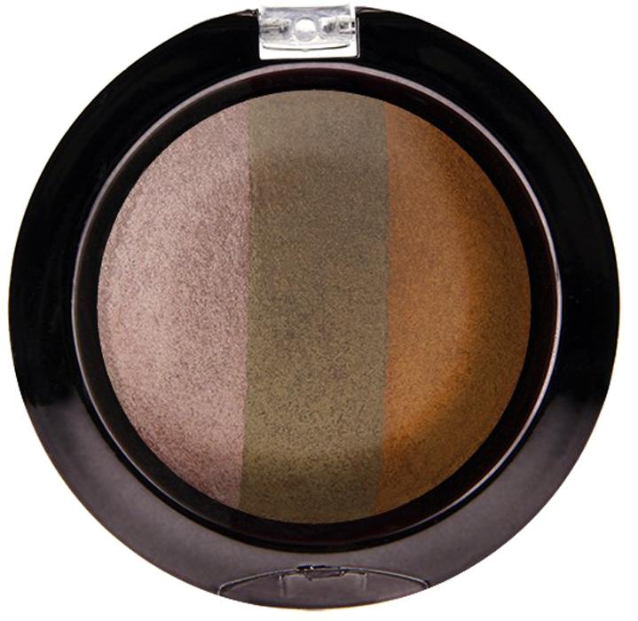 Nicka K NY Defining Eyeshadow тени для глаз, 7 г, оттенок SPARKLE BRONZENBE03Миксовые цвета трёхцветных теней Nicka K New York Terracotta Baked Eyeshadows при нанесении раскрываются богатой палитрой, подчёркивая выразительность взгляда. При производстве теней используется новаторский метод запекания на терракоте, что приводит к шелковисто-плавному переходу при нанесении. Мягкая микро-пудра, входящая в состав теней, увеличивает стойкость, что позволяет макияжу сохраняться в течение всего дня, не осыпаясь и не размазываясь. Тени можно наносить как сухим аппликатором для создания нежного сияния, так и влажным методом для придания макияжу яркого металлического блеска.