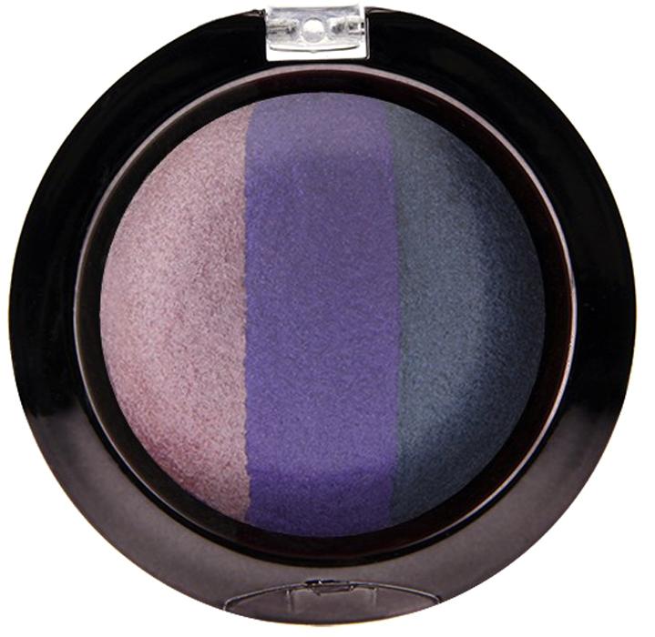 Nicka K NY Defining Eyeshadow тени для глаз, 7 г, оттенок SPARKLE PLUMNBE06Миксовые цвета трёхцветных теней Nicka K New York Terracotta Baked Eyeshadows при нанесении раскрываются богатой палитрой, подчёркивая выразительность взгляда. При производстве теней используется новаторский метод запекания на терракоте, что приводит к шелковисто-плавному переходу при нанесении. Мягкая микро-пудра, входящая в состав теней, увеличивает стойкость, что позволяет макияжу сохраняться в течение всего дня, не осыпаясь и не размазываясь. Тени можно наносить как сухим аппликатором для создания нежного сияния, так и влажным методом для придания макияжу яркого металлического блеска.