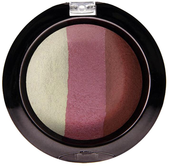 Nicka K NY Defining Eyeshadow тени для глаз, 7 г, оттенок SPARKLE CHERRYNBE07Миксовые цвета трёхцветных теней Nicka K New York Terracotta Baked Eyeshadows при нанесении раскрываются богатой палитрой, подчёркивая выразительность взгляда. При производстве теней используется новаторский метод запекания на терракоте, что приводит к шелковисто-плавному переходу при нанесении. Мягкая микро-пудра, входящая в состав теней, увеличивает стойкость, что позволяет макияжу сохраняться в течение всего дня, не осыпаясь и не размазываясь. Тени можно наносить как сухим аппликатором для создания нежного сияния, так и влажным методом для придания макияжу яркого металлического блеска.