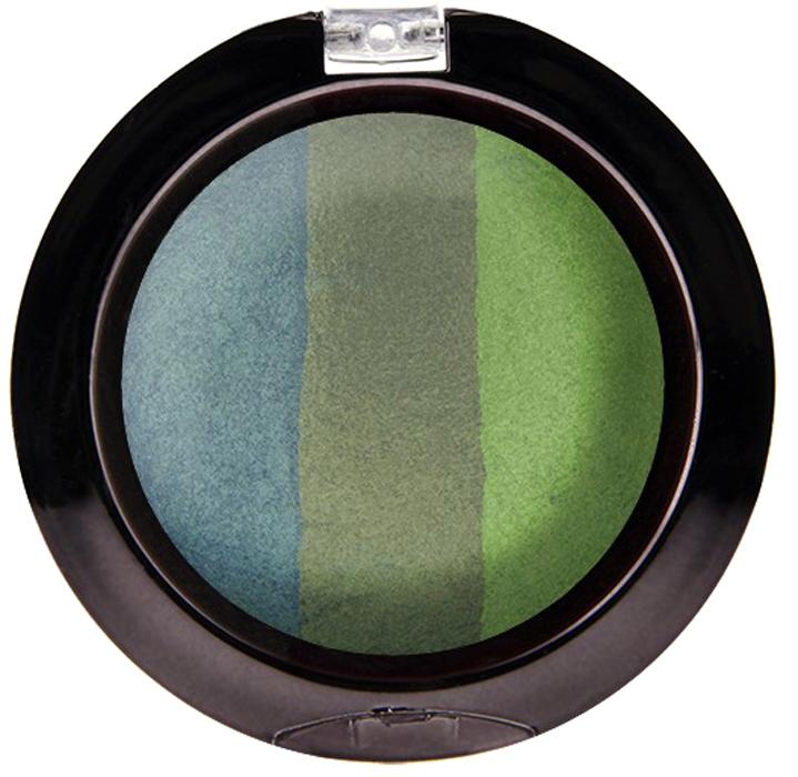 Nicka K NY Defining Eyeshadow тени для глаз, 7 г, оттенок SPARKLE FORESTNBE08Миксовые цвета трёхцветных теней Nicka K New York Terracotta Baked Eyeshadows при нанесении раскрываются богатой палитрой, подчёркивая выразительность взгляда. При производстве теней используется новаторский метод запекания на терракоте, что приводит к шелковисто-плавному переходу при нанесении. Мягкая микро-пудра, входящая в состав теней, увеличивает стойкость, что позволяет макияжу сохраняться в течение всего дня, не осыпаясь и не размазываясь. Тени можно наносить как сухим аппликатором для создания нежного сияния, так и влажным методом для придания макияжу яркого металлического блеска.