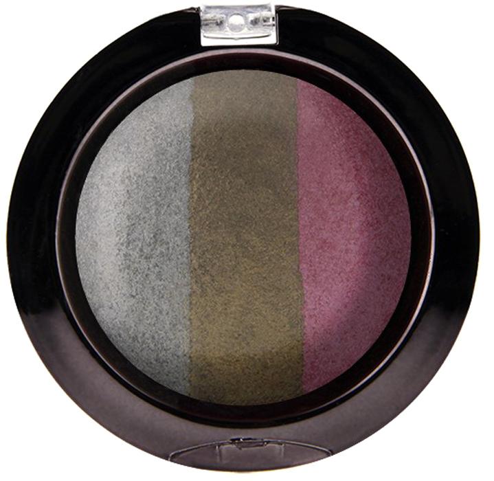 Nicka K NY Defining Eyeshadow тени для глаз, 7 г, оттенок SPARKLE METALNBE09Миксовые цвета трёхцветных теней Nicka K New York Terracotta Baked Eyeshadows при нанесении раскрываются богатой палитрой, подчёркивая выразительность взгляда. При производстве теней используется новаторский метод запекания на терракоте, что приводит к шелковисто-плавному переходу при нанесении. Мягкая микро-пудра, входящая в состав теней, увеличивает стойкость, что позволяет макияжу сохраняться в течение всего дня, не осыпаясь и не размазываясь. Тени можно наносить как сухим аппликатором для создания нежного сияния, так и влажным методом для придания макияжу яркого металлического блеска.