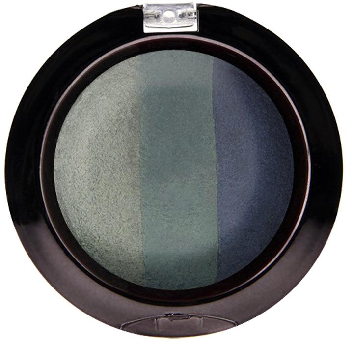 Nicka K NY Defining Eyeshadow тени для глаз, 7 г, оттенок SPARKLE OCEANNBE11Миксовые цвета трёхцветных теней Nicka K New York Terracotta Baked Eyeshadows при нанесении раскрываются богатой палитрой, подчёркивая выразительность взгляда. При производстве теней используется новаторский метод запекания на терракоте, что приводит к шелковисто-плавному переходу при нанесении. Мягкая микро-пудра, входящая в состав теней, увеличивает стойкость, что позволяет макияжу сохраняться в течение всего дня, не осыпаясь и не размазываясь. Тени можно наносить как сухим аппликатором для создания нежного сияния, так и влажным методом для придания макияжу яркого металлического блеска.