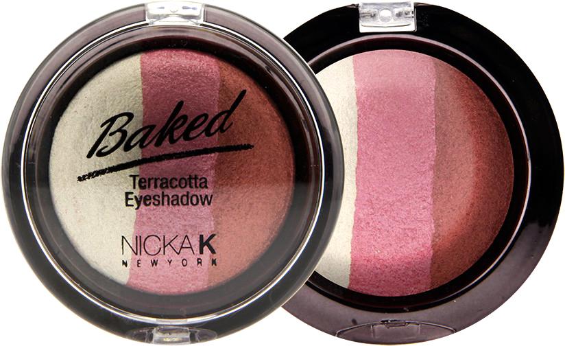 Nicka K NY Defining Eyeshadow тени для глаз, 7 г, оттенок SPARKLE INCANBE12Миксовые цвета трёхцветных теней Nicka K New York Terracotta Baked Eyeshadows при нанесении раскрываются богатой палитрой, подчёркивая выразительность взгляда. При производстве теней используется новаторский метод запекания на терракоте, что приводит к шелковисто-плавному переходу при нанесении. Мягкая микро-пудра, входящая в состав теней, увеличивает стойкость, что позволяет макияжу сохраняться в течение всего дня, не осыпаясь и не размазываясь. Тени можно наносить как сухим аппликатором для создания нежного сияния, так и влажным методом для придания макияжу яркого металлического блеска.