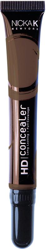 Nicka K NY HD Concealer тональный крем, 15 мл, оттенок DARK CHOCOLATE017431Nicka K Консилер HD идеально маскируют темные круги под глазами и другие несовершенства кожи, наполняя лицо сиянием. Легкая, увлажняющая формула со светоотражающей технологией гарантируют равномерное нанесение и отсутствие жирного блеска в течение всего дня.