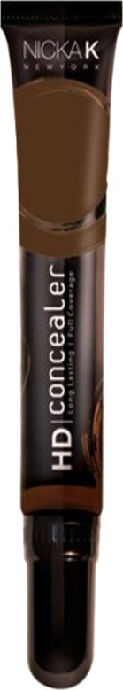 Nicka K NY HD Concealer тональный крем, 15 мл, оттенок BRAZILIAN COFFEE016989Nicka K Консилер HD идеально маскируют темные круги под глазами и другие несовершенства кожи, наполняя лицо сиянием. Легкая, увлажняющая формула со светоотражающей технологией гарантируют равномерное нанесение и отсутствие жирного блеска в течение всего дня.