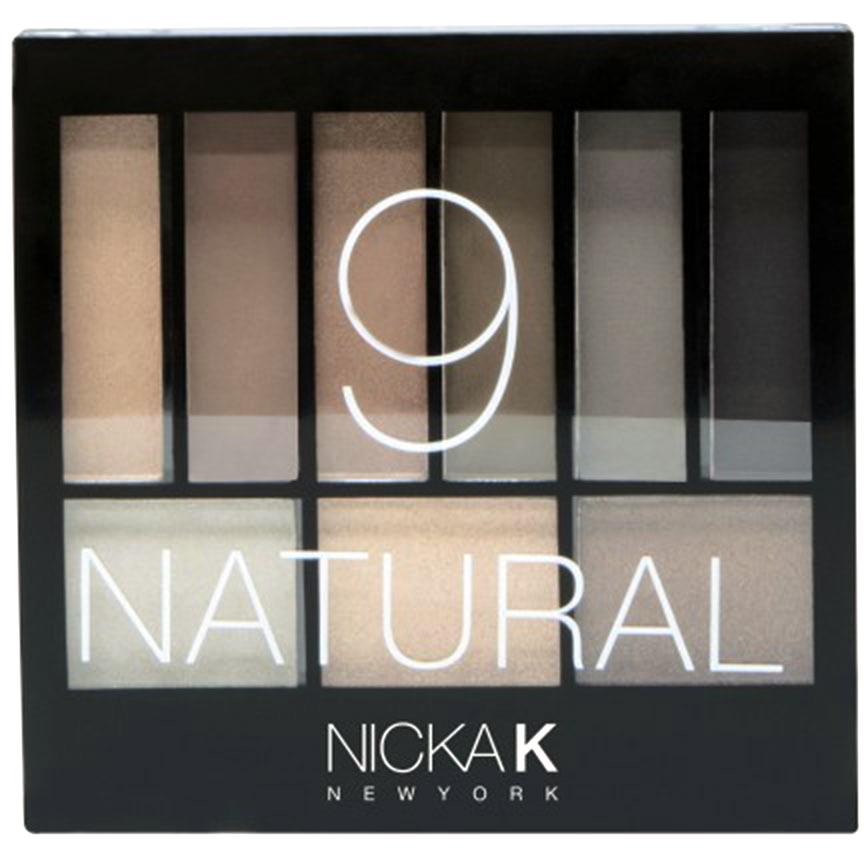 Nicka K NY Defining Eyeshadow тени для глаз, 14,1 г, оттенок NATURAL017433Палетка высокопигментированных теней и румян ( 9 тонов) от Nicka K New York, поможет вам в создании настоящих шедевров! Девять тонов позволят вам создать самые разные образы от нежных до более ярких.