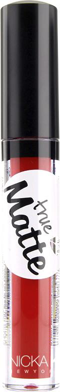 Nicka K NY True Matte Lip Color губная помада, 3,5 г, оттенок MILANO RED017427Приятная кремовая текстура, обеспечивающая устойчивое покрытие и благородную матовость. Матовый блеск для губ с аппликатором наносится в 1 или 2 слоя в зависимости от того, насколько яркое покрытие вы хотите получить.Какая губная помада лучше. Статья OZON Гид
