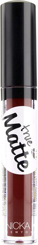 Nicka K NY True Matte Lip Color губная помада, 3,5 г, оттенок WINE BERRY017482Приятная кремовая текстура, обеспечивающая устойчивое покрытие и благородную матовость. Матовый блеск для губ с аппликатором наносится в 1 или 2 слоя в зависимости от того, насколько яркое покрытие вы хотите получить.
