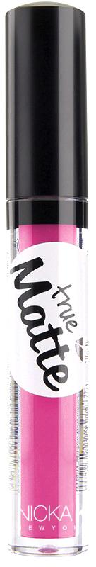 Nicka K NY True Matte Lip Color губная помада, 3,5 г, оттенок BRILLIANT ROSE017398Приятная кремовая текстура, обеспечивающая устойчивое покрытие и благородную матовость. Матовый блеск для губ с аппликатором наносится в 1 или 2 слоя в зависимости от того, насколько яркое покрытие вы хотите получить.Какая губная помада лучше. Статья OZON Гид