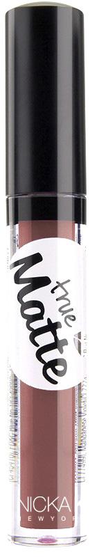 Nicka K NY True Matte Lip Color губная помада, 3,5 г, оттенок TURKISH ROSE017482Приятная кремовая текстура, обеспечивающая устойчивое покрытие и благородную матовость. Матовый блеск для губ с аппликатором наносится в 1 или 2 слоя в зависимости от того, насколько яркое покрытие вы хотите получить.