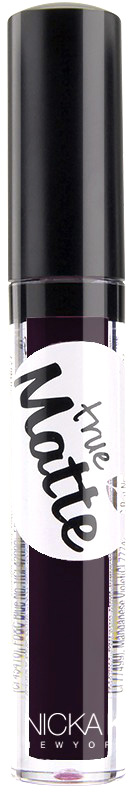 Nicka K NY True Matte Lip Color губная помада, 3,5 г, оттенок CLAIRVOYANT017482Приятная кремовая текстура, обеспечивающая устойчивое покрытие и благородную матовость. Матовый блеск для губ с аппликатором наносится в 1 или 2 слоя в зависимости от того, насколько яркое покрытие вы хотите получить.Какая губная помада лучше. Статья OZON Гид