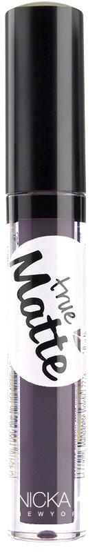 Nicka K NY True Matte Lip Color губная помада, 3,5 г, оттенок OUTER SPACE017427Приятная кремовая текстура, обеспечивающая устойчивое покрытие и благородную матовость. Матовый блеск для губ с аппликатором наносится в 1 или 2 слоя в зависимости от того, насколько яркое покрытие вы хотите получить.Какая губная помада лучше. Статья OZON Гид