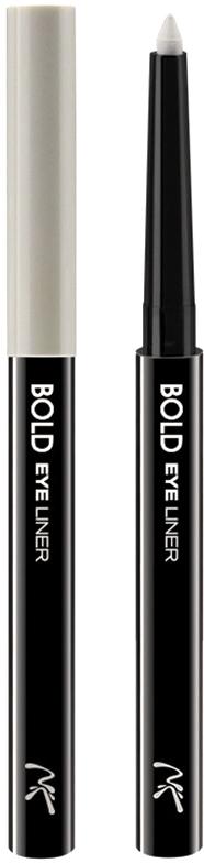 Nicka K NY Bold Eye Liner подводка для глаз, 0,56 г, оттенок AA0632 WHITE nicka k ny silky cream stick губная помада 2 5 г оттенок nk52 red ribbon